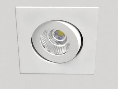 LED adjustable recessed spotlight MOOD SQUARE