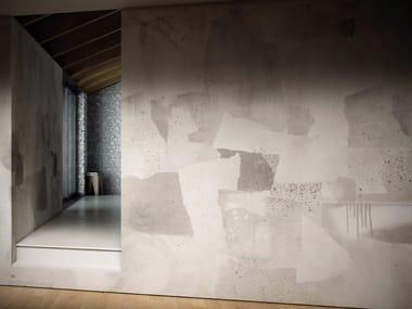 Carta da parati geometrica lavabile in vinile MOON