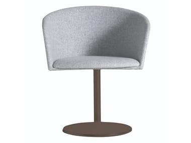Upholstered fabric chair MOON LIGHT 663DSC