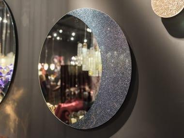 Round wall-mounted mirror MOON | Mirror