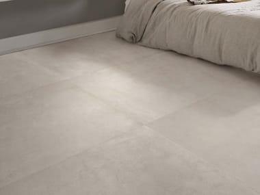 Pavimento/rivestimento in gres porcellanato effetto cemento per interni ed esterni MOON W