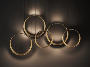 LED aluminium pendant lamp MOONLIGHT