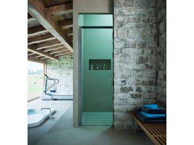 Niche shower cabin with sliding door MOOV TM