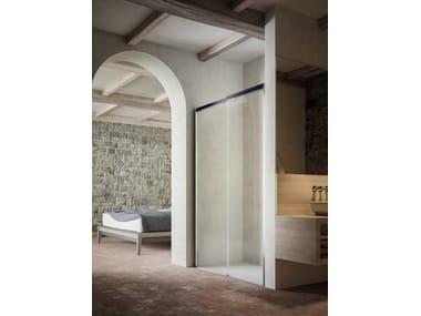 Niche shower cabin with sliding door MOOV TO