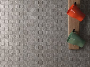 Mosaico in gres porcellanato METAL.IT | Mosaico