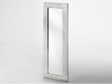 Rectangular framed mirror MOSAIC | Mirror