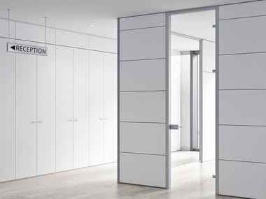 Wooden office partition TAURUS | Movable wall