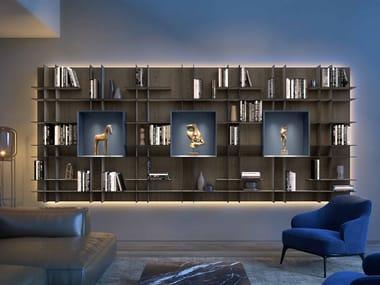 Libreria a parete componibile MOVIDA