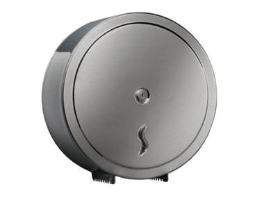 Portarotolo per bagni pubblici in acciaio inox MP875 | Portarotolo per bagni pubblici
