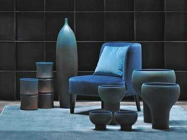 Vaso de cerâmica MR. BLUE