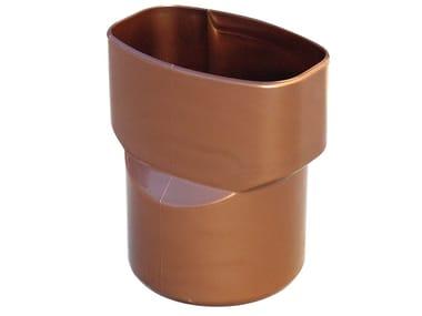 Adattatore da tubo ovale a tondo per tubo pluviale MRB96R