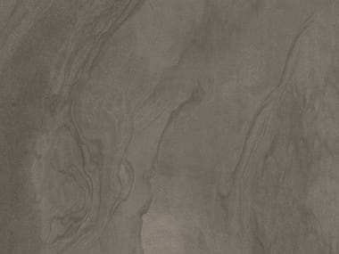 Fireproof anti-slip porcelain stoneware wall tiles with stone effect MUD FLAT