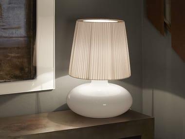 Opal glass table lamp MUF 02