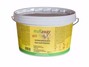Hydraulic and hydrated lime based plaster muffaway®