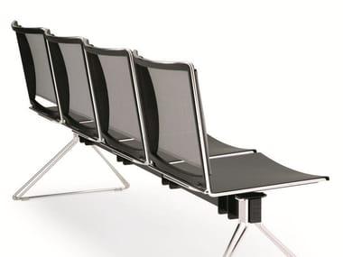 Seduta su barra a pavimento MULTI MESH | Seduta su barra