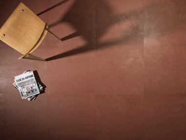 Pavimento/rivestimento in gres porcellanato effetto resina MULTIFORMA