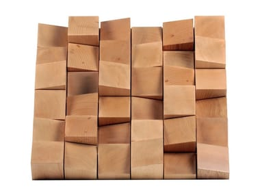 Solid wood decorative acoustical panel MULTIFUSER WOOD 36