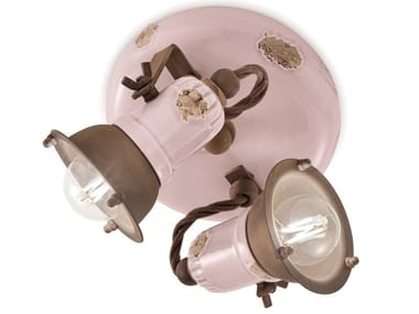 Multiple adjustable round ceramic spotlight LOFT   Multiple spotlight