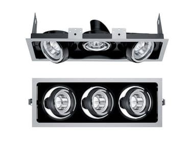 LED multiple recessed spotlight PIXEL PRO | Multiple spotlight