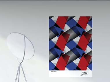 Decorazione adesiva a motivi in PVC MULTIPLO | Poster