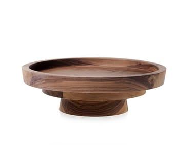 Round wooden tray MUN 9 | Walnut tray