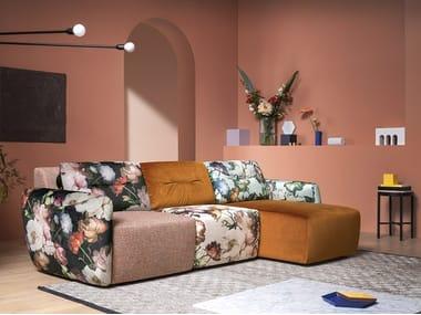 Sectional fabric sofa MURAKAMI