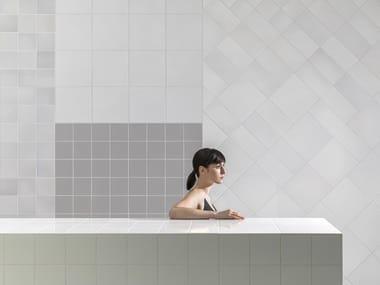 Indoor ceramic wall tiles MURALS FUSE