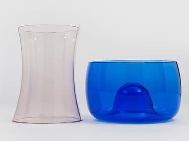 Set vasi in vetro di Murano soffiato MURANO E
