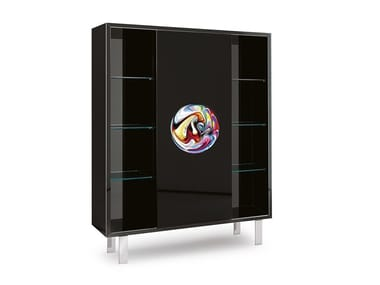 Highboard with integrated lighting MURANO | Highboard