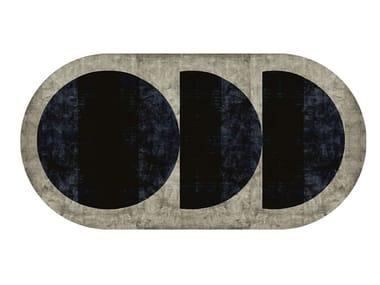 Handmade rug with geometric shapes MURKAN