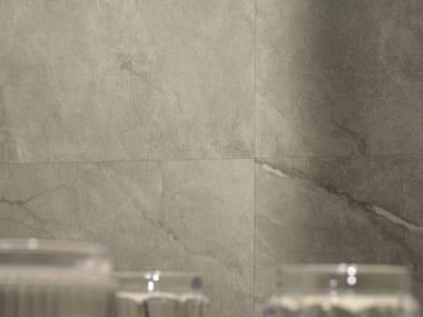 Pavimento/rivestimento in gres porcellanato effetto marmo MUSE BG