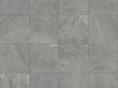 Outdoor floor tiles with stone effect MUSEO ARDESIA GRIGIA