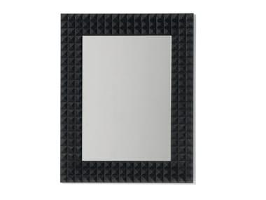 Wall-mounted framed mirror MUSETTA