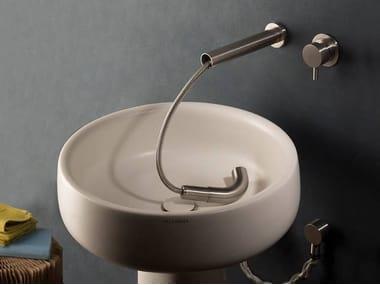 Stainless steel kitchen tap / washbasin tap MUST 9696   Washbasin mixer