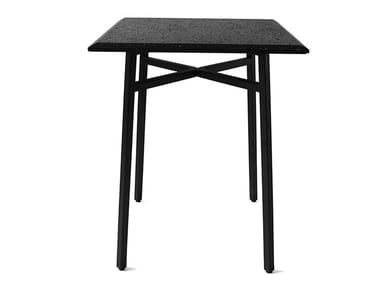 Square lava stone table MUTUAL