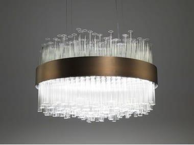 Glass pendant lamp MY LAMP ROUND