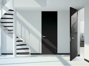 Hinged flush-fitting door MYA | Lacquered door