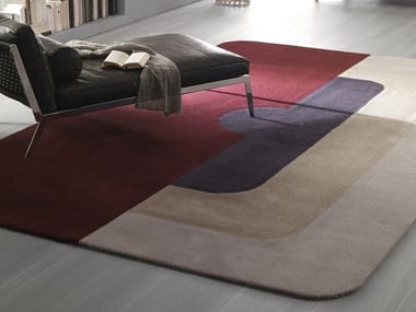 Handmade fabric rug MAYFAIR