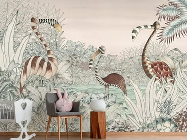For all ages wallpaper, PVC free, eco, washable MYSTIQUE