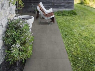 Pavimento per esterni in gres porcellanato effetto pietra MYSTONE BASALTO20 | Sabbia