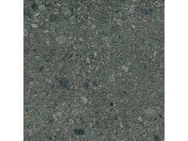 Pavimento per esterni in gres porcellanato effetto pietra MYSTONE CEPPO DI GRÉ 20 | Antracite