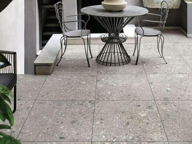 Pavimento per esterni in gres porcellanato effetto pietra MYSTONE CEPPO DI GRÉ 20 | Greige