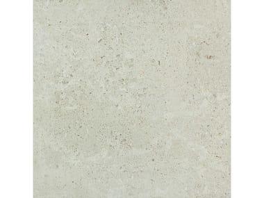 Pavimento per esterni in gres porcellanato effetto pietra MYSTONE GRIS FLEURY 20 | Bianco