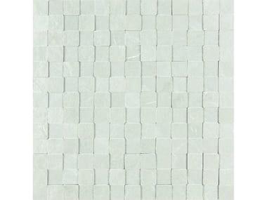 Rivestimento tridimensionale in gres porcellanato MYSTONE LAVAGNA | Mosaico 3D Bianco