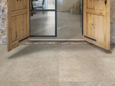 Pavimento per esterni in gres porcellanato effetto pietra MYSTONE LIMESTONE 20 | Taupe
