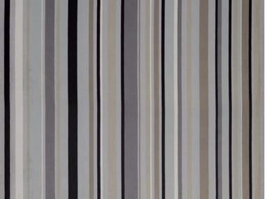 Striped chenille fabric MYSTRAL