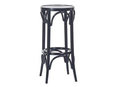 High wooden barstool N° 73 | Barstool