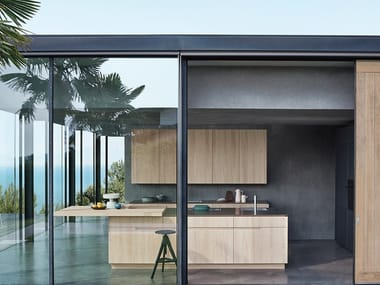 Kitchen with island N_ELLE - LIVING BY THE SEA