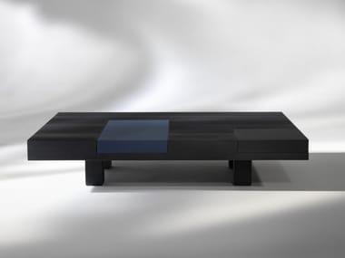 Rectangular wooden coffee table N.Y. | Rectangular coffee table