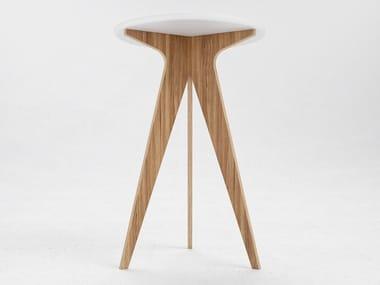 Tavoli Alti Legno : Tavoli alti in legno impiallacciato archiproducts